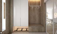 Hol / Przedpokój styl Skandynawski - zdjęcie od ELEMENTY - Hol / Przedpokój - Styl Skandynawski - ELEMENTY Wardrobes, Armoire, Shelves, Bedroom, House, Furniture, Design, Home Decor, Ideas