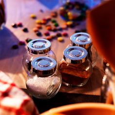 150ml RAJTAN Spice Jar Glass Bottle Cruet Sweden Food Storage with Aluminium Cover