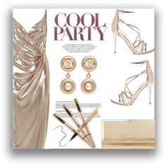 Party Girl by cassandra-cafone-wright on Polyvore featuring moda, River Island, Steve Madden, Jimmy Choo and Chanel