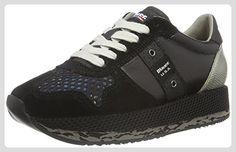 Blauer USA Damen Wofasrun Sneaker, Schwarz (Black), 37 EU - Sneakers für frauen (*Partner-Link)