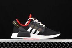 Adidas Nmd R1, Adidas Sneakers, Black White, Shoes, Fashion, Black And White, Moda, Zapatos, Black N White