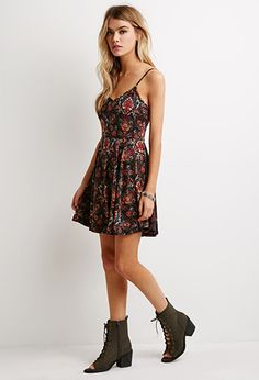 Abstract Paisley Cami Dress | Forever 21 - 2000054390