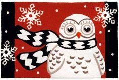 Owl Doormat pinned by www.myowlbarn.com