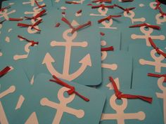 Birthday Invitations with a Nautical theme!