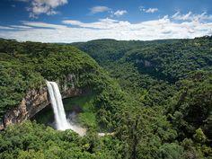 Canela's beautiful scenery in the mountainous Rio Grande.