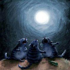 Шумела мышь, деревья гнулись... – Синяя ночь