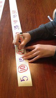 Tunstall's Teaching Tidbits: Adding Tape Math