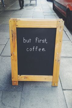 #Coffee always first.