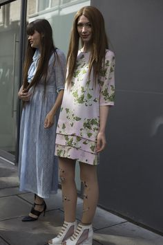 We've selected the most covetable London street style, fresh from the SS16 shows. #Topshop