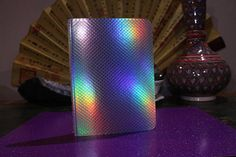 Small pretty Holo lined mermaid scale notebook Cute School Supplies, Prism Color, Iridescent, Aurora, Rainbow, Colours, Etsy, Closet, Accessories