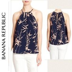 I just discovered this while shopping on Poshmark: Banana Republic Tank Top. Check it out! Price: $42 Size: L
