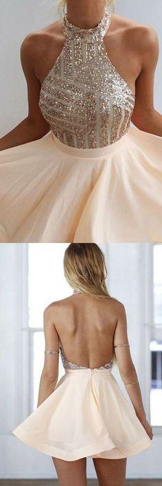 homecoming dresses,homecoming dresses,sparkling homecoming dresses,halter homecoming dresses,cheap short prom dresses,cheap short pink party dresses