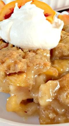 Tennessee Peach Pudding: Lovely Peach Dessert Made with a Tasty Syrup That Sinks Down into The Cobbler-Type Pudding Making a Crusty Caramel-Flavored Topping.