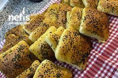 Kedidili Bisküvili Hafif Balkabağı Tatlısı - Nefis Yemek Tarifleri Bagel, Potatoes, Bread, Vegetables, Food, Potato, Brot, Essen, Vegetable Recipes