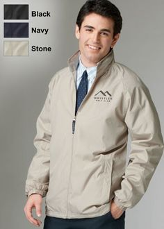 Custom personalized outerwear, jackets, and fleeces embroidered with your  company logo, team, or promotional event.