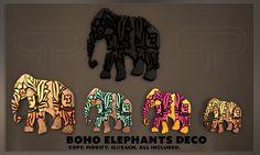 Pure Poison - BOHO Elephants DECO | Flickr - Photo Sharing!