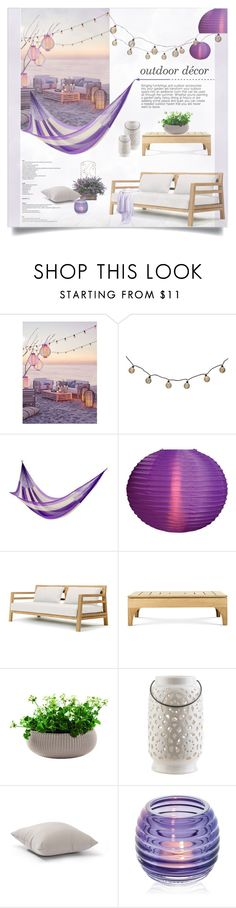 """Purple Inspiration!"" by lulunam ❤ liked on Polyvore featuring interior, interiors, interior design, home, home decor, interior decorating, NOVICA, Cultural Intrigue, Ethimo and Surya"