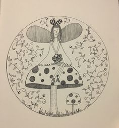 A personal favourite from my Etsy shop https://www.etsy.com/au/listing/493184919/butterfly-fairy-wall-art-print-of