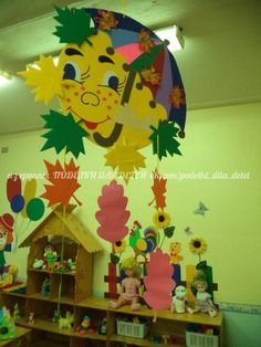 Klassenkameraden - Fall Crafts For Toddlers Toddler Crafts, Preschool Activities, Diy And Crafts, Crafts For Kids, Arts And Crafts, Paper Crafts, Class Decoration, School Decorations, Autumn Crafts