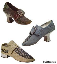 Старинная обувь (54 фото). Обсуждение на LiveInternet - Российский Сервис Онлайн-Дневников Oxford Shoes, Booty, Ankle, How To Wear, Women, History, Vintage, Inspiration, Fashion