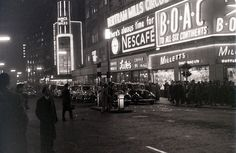 Coventry Street, London, 3 January 1957 by allhails, via Flickr
