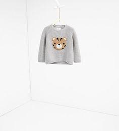 Imagem 1 de Camisola carinha tigre da Zara