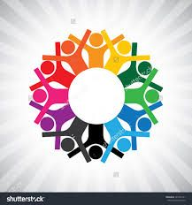 Image result for hands circle