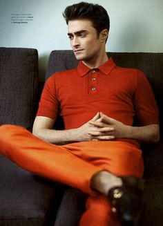 Daniel Radcliffe for OUT Magazine Photo: Kai Z Feng ...he looks really good!