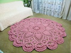↦ Crochet string rug - Learn how to make amazing model.