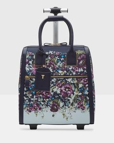 Discover bags for women at Ted Baker. From large leather handbags to compact clutch bags, you're sure to get carried away by this stylish selection. Rolling Laptop Bag, Ted Baker Handbag, Luggage Backpack, Travel Luggage, Fab Bag, Trolley Bags, Travel Bags For Women, Luxury Bags, Tote Handbags