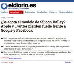 Sobre el modelo de Silicon Valley. 30.01.16