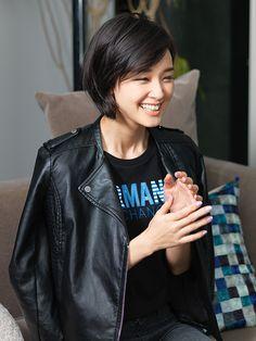 画像集 剛力彩芽 Leather Jacket, Jackets, Fashion, Studded Leather Jacket, Down Jackets, Moda, Leather Jackets, Fashion Styles, Jacket