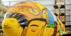 COLOURFUL BOEING 737 FOR TEAM BRAZIL'S 2014 FIFA WORLD CUP TRAVEL