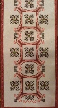 This Pin was discovered by Etl Hand Embroidery Design Patterns, Embroidery Sampler, Embroidery Monogram, Embroidery Art, Cross Stitch Embroidery, Cross Stitch Patterns, Needlepoint Designs, Bargello, Cross Stitching