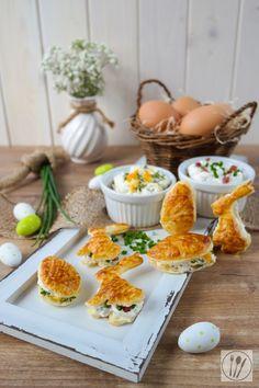 Herzhaftes Blätterteig-Gebäck für das Osterbufft I Puff pasrty for easter I Sia´s Soulfood