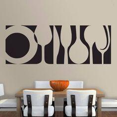 vinilos, viniles, sticker para la decoracion de cocinas #decoraciondecocinasmodernas
