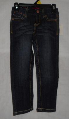 New Girls Size 4 Skinny Jeans Freestyle DarkWash #Freestyle #SlimSkinny…