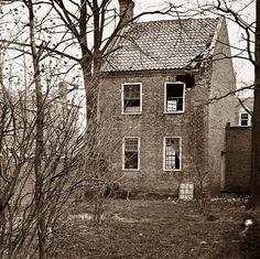 Petersburg, Virginia. Damaged house