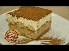 Nugat tiramisu kolač sa domaćim bejlisom | Prakticna Zena