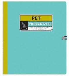 Pet Records Organizer Binder Image
