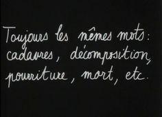 Godard, Les carabiniers. cadavres, mort