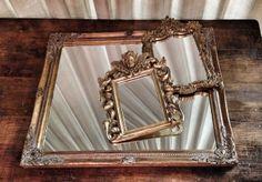 Old vintage mirrors
