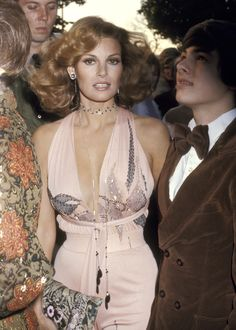 Raquel Welch at the 1974 Academy Awards