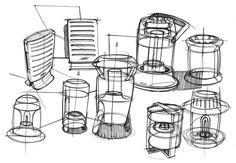 Sketches of lanterns by designer Spencer Nugent