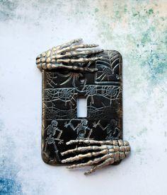 Skeleton Hands 3 Halloween skeletons dancing by TMBakerDesigns, $15.00