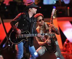Jason Aldean And Lenny Kravitz | GRAMMY.com