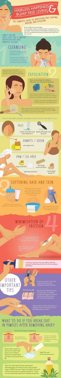 5-Minute Hair-Removal Tips That Will Guarantee a Bump-Free Beach Bod - 10 Tips, Tricks and DIYs for Gorgeous Looking Summer Skin. #beauty