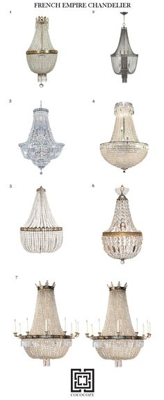 Outdoor Chandelier, Diy Chandelier, Chandeliers, French Empire Chandelier, Interior Lighting, Lighting Ideas, Beautiful Dining Rooms, Empire Style, Traditional House