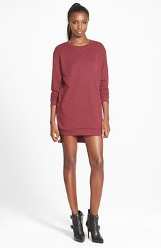 GLAMOROUS Sweatshirt Tunic Dress (Online Only) available at #Nordstrom