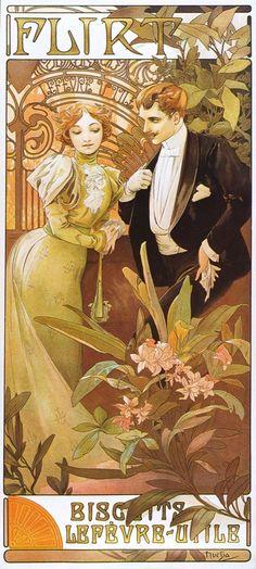 Alfons Mucha, Trabajos